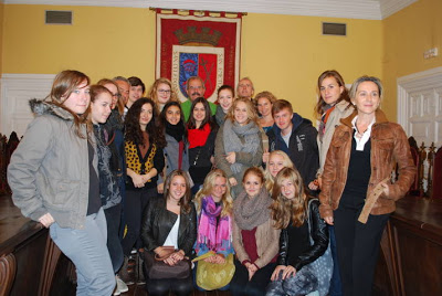 Mayor welcomes German exchange with our Institute students | IES