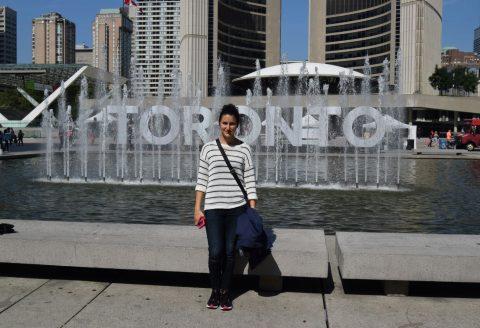 Isabel Jarauta ha disfrutado de una beca de Inmersión Lingüística en Canadá