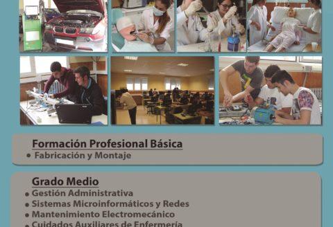Jornada de puertas abiertas Formación Profesional – Jueves 24 de mayo 19:00