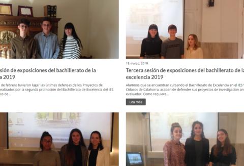 Exposiciones del bachillerato de la excelencia 2019