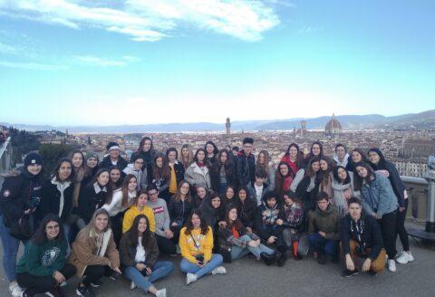 Los alumnos de 1º de bachillerato realizan el ya tradicional viaje de estudios a Italia