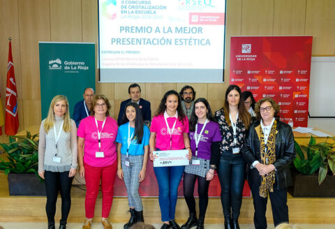 Premio a la mejor presentación estética en el concurso de cristalización de La Rioja
