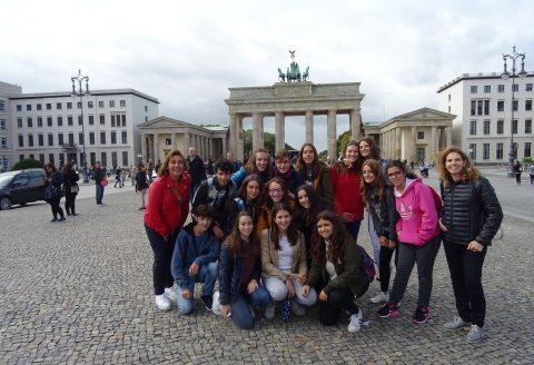 Alumnos de 4º de ESO del IES Valle del Cidacos viajaron a Berlín