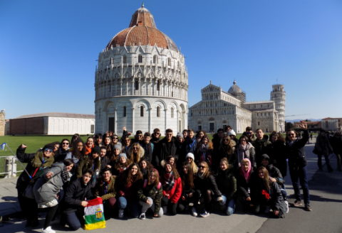 Viaje de estudios a Italia de 1º de bachillerato