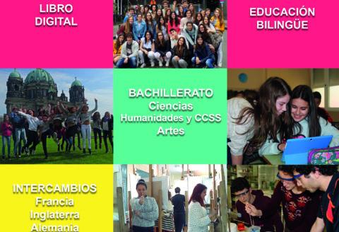 Sesión informativa de Bachillerato, martes 10 de abril a las 18:30