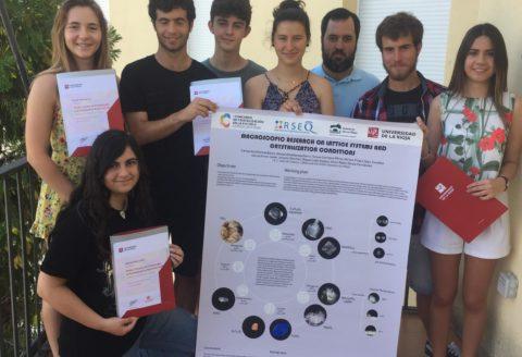 PRIMER PREMIO en el Concurso Nacional de cristalización